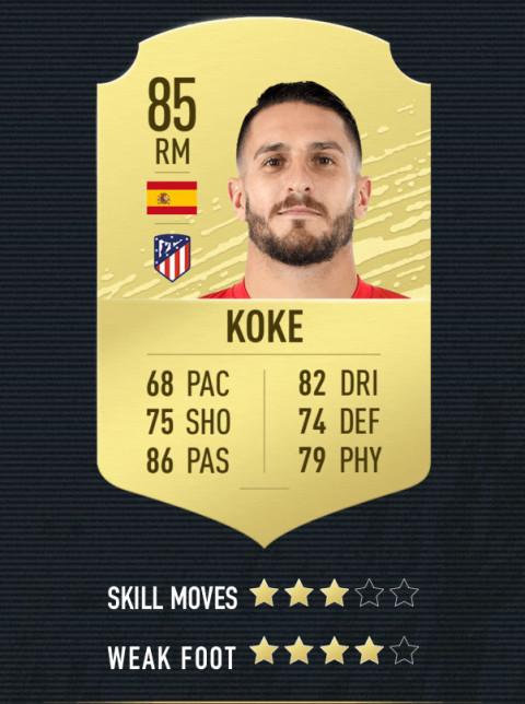 koke note FIFA 20