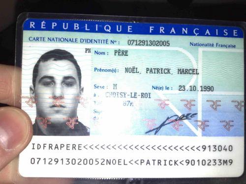 exemple de numéro de carte d identité française Jay le pire nom possible :'( sur le forum Blabla 15 18 ans   14 11