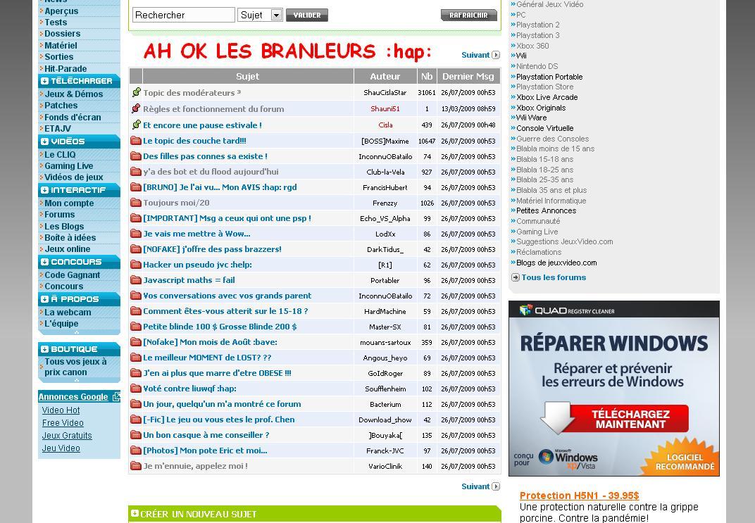 2009 FREE TÉLÉCHARGER GRATUIT PC ETAJV