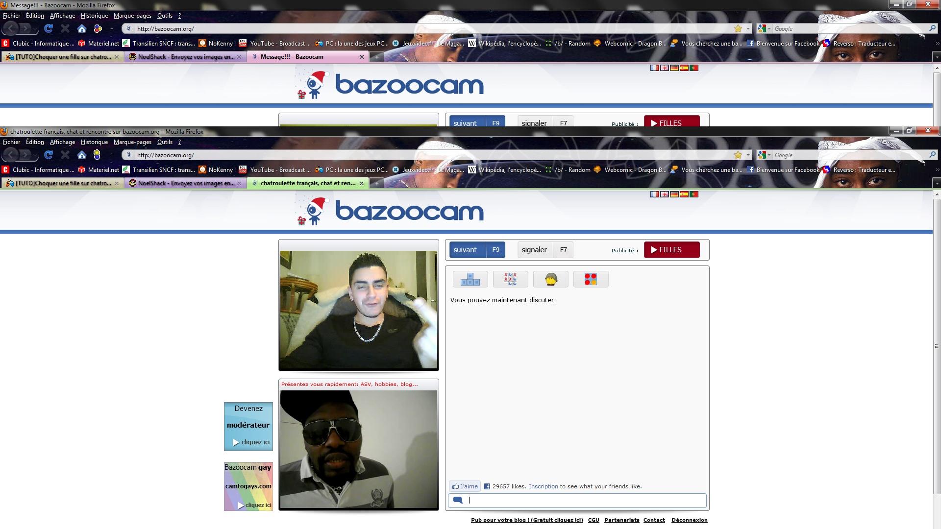 ChatRoulette Quebec / Canada Webcam