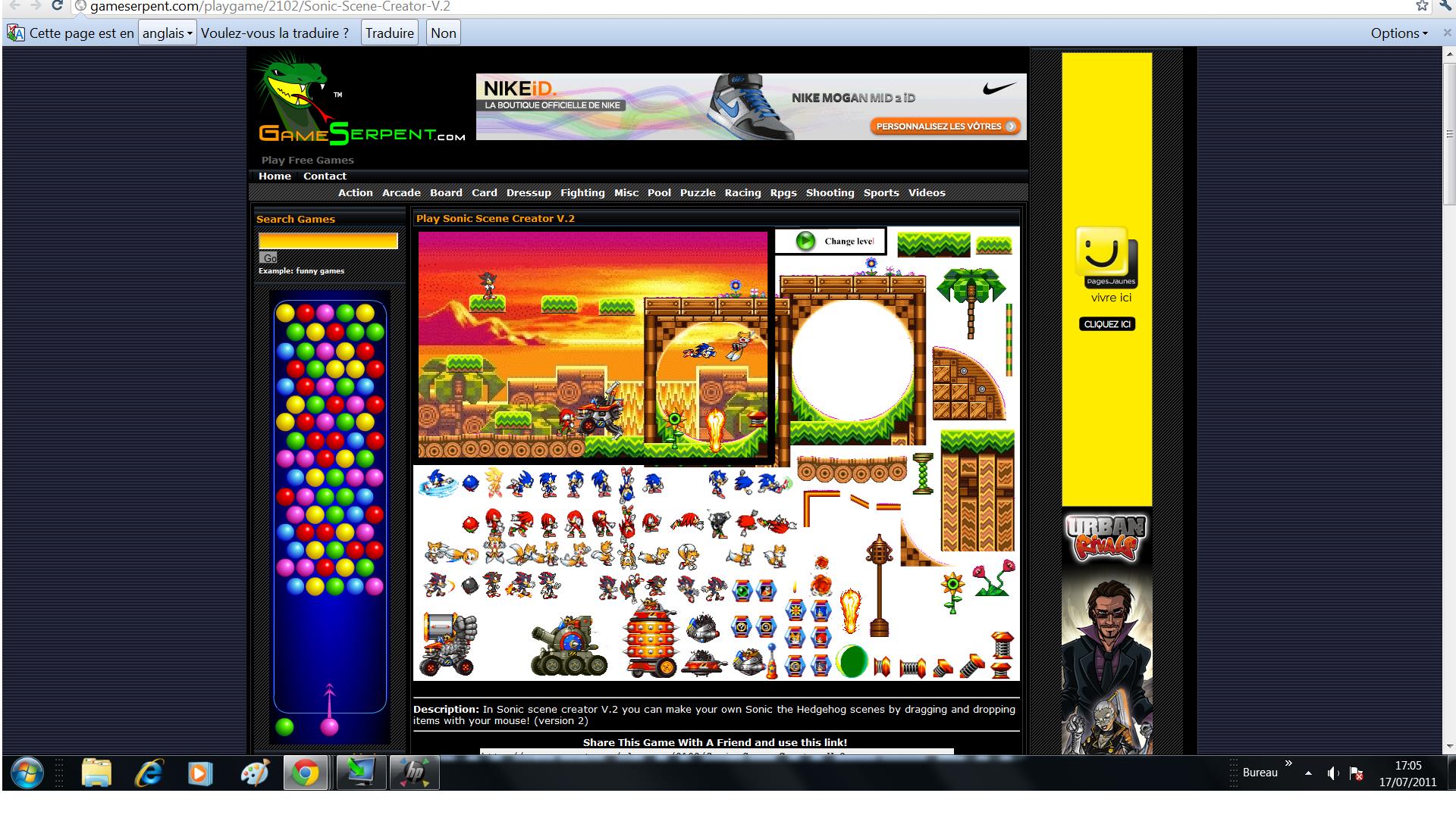 Sonic Scene Creator sur le forum Sonic Generations - 14-07