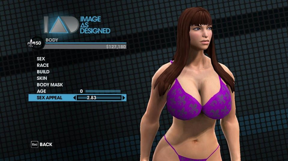 Are Saints row female nude think, that
