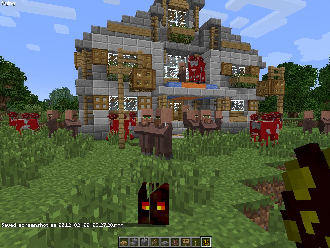 Image De Maison Médiévale Minecraft