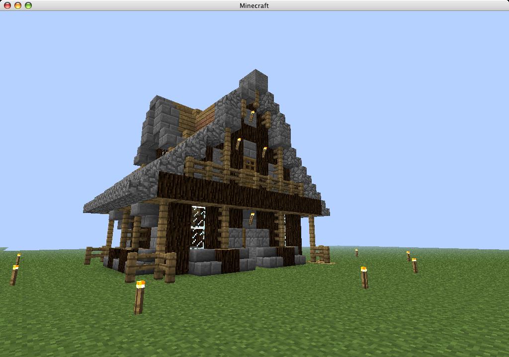 Avis Maison Type Medieval Sur Le Forum Minecraft 09 04 2012 10 15 33 Jeuxvideo Com