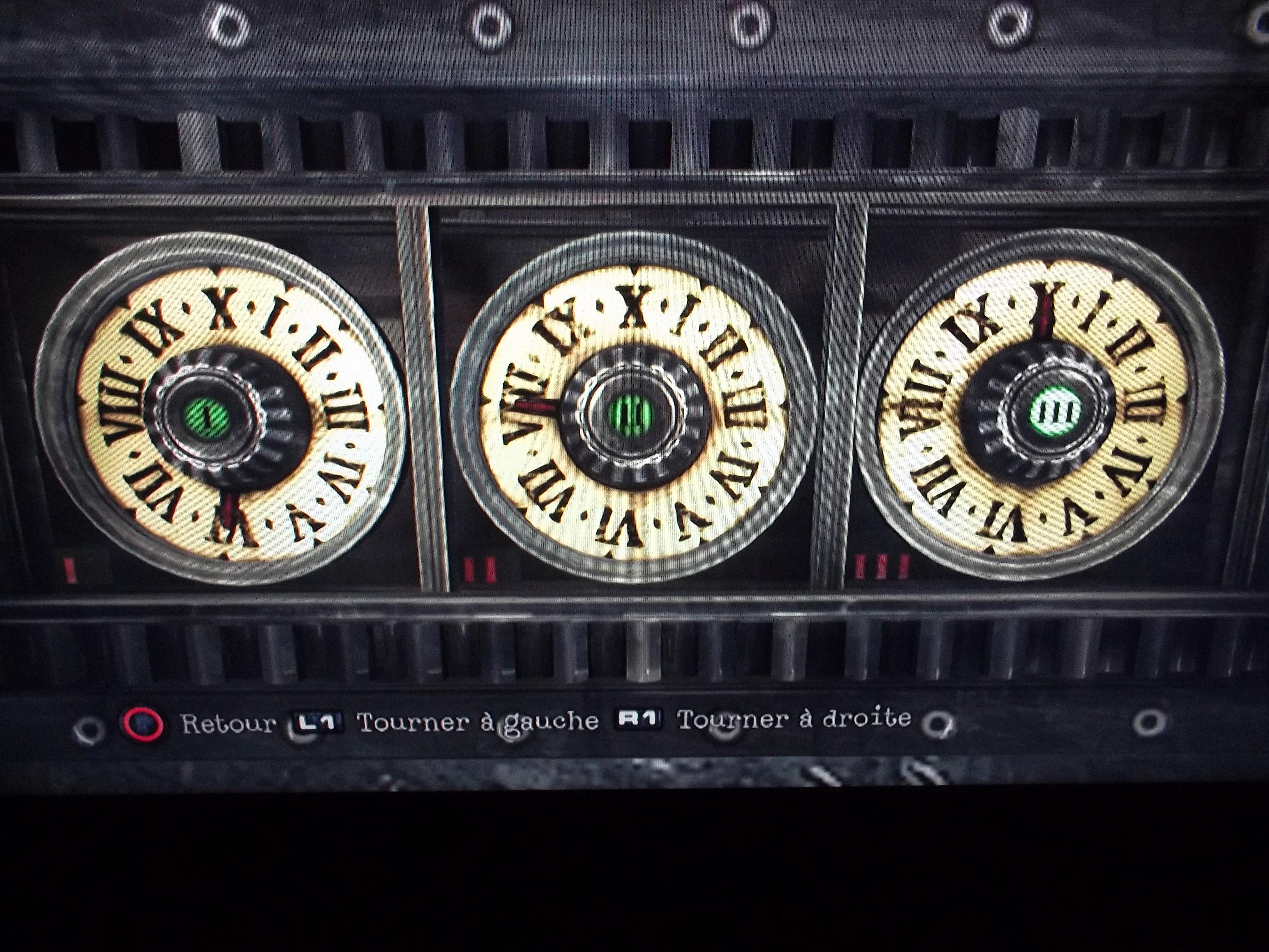 le code du coffre en chiffre romain sur le forum silent. Black Bedroom Furniture Sets. Home Design Ideas