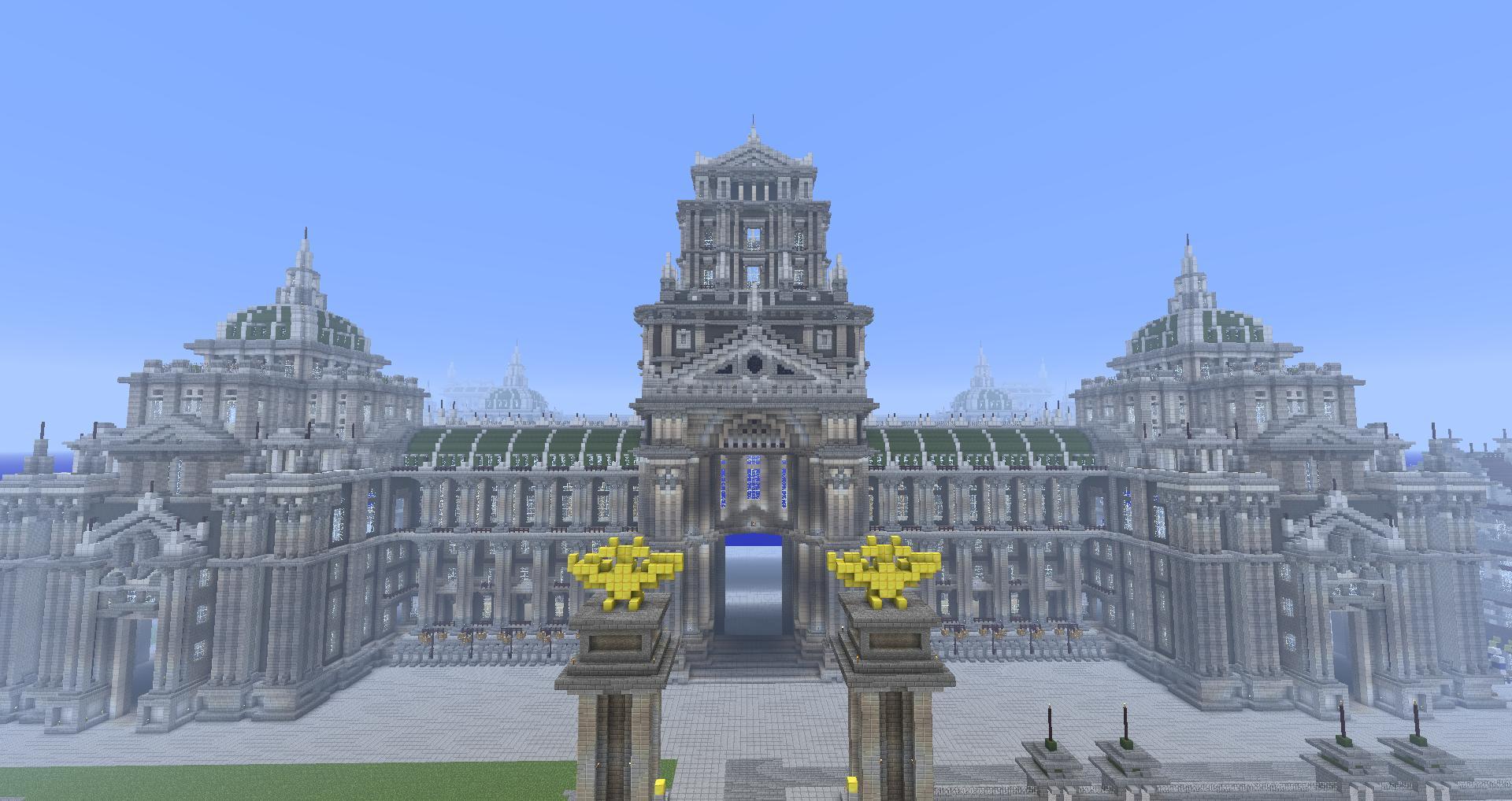 Map La Cit 233 Imp 233 Riale 1 2 5 Minecraft France
