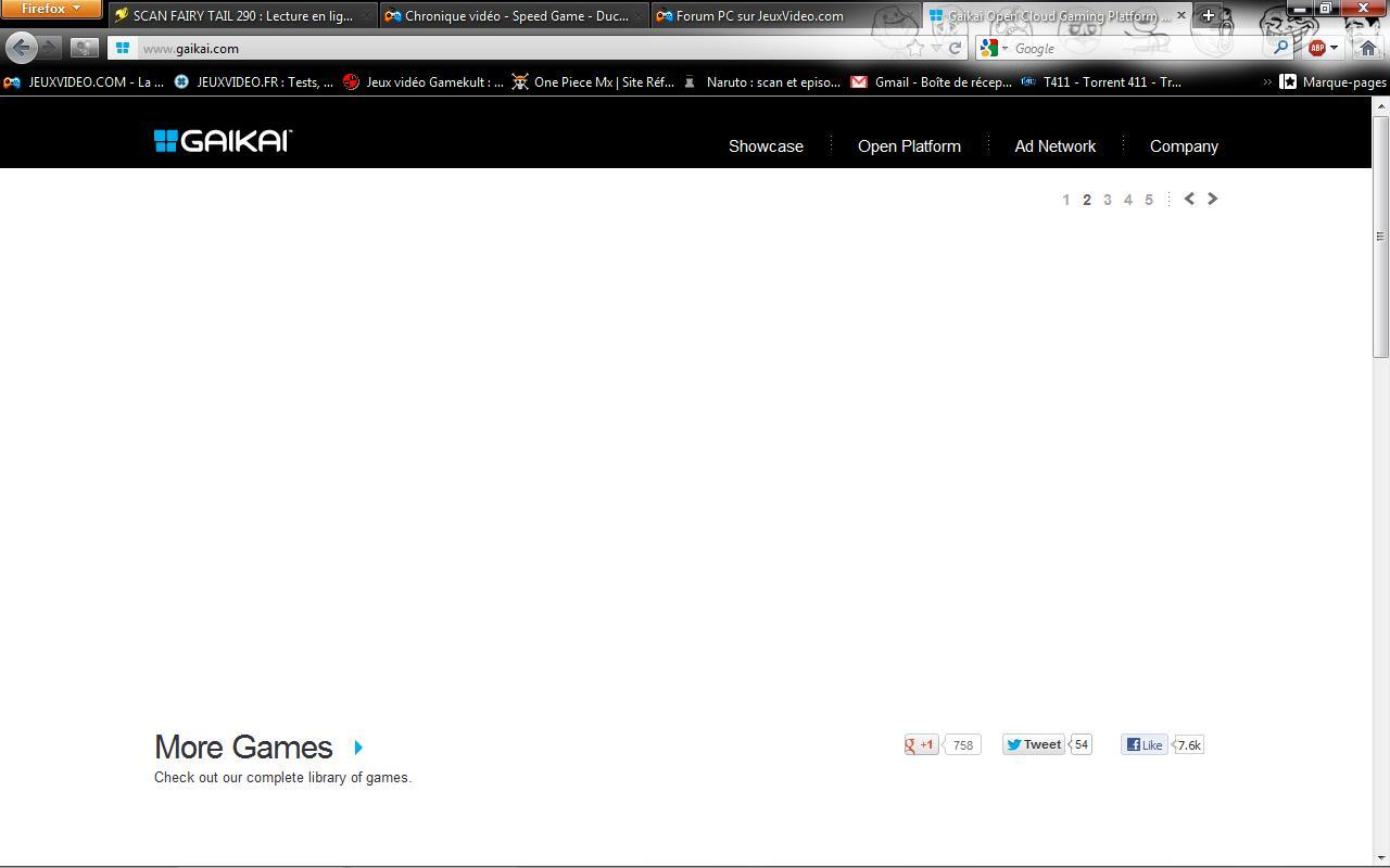 aide probl me avec gaikai sur le forum informatique 07 07 2012 11 44 17. Black Bedroom Furniture Sets. Home Design Ideas