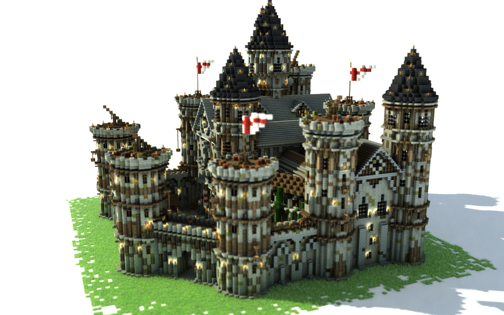 How To Build A Castle | Tutorial – Minecraft Building Inc