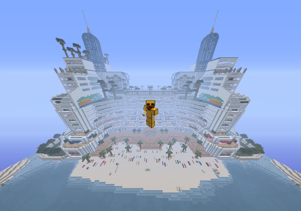 Minecraft Map Maison De Luxe