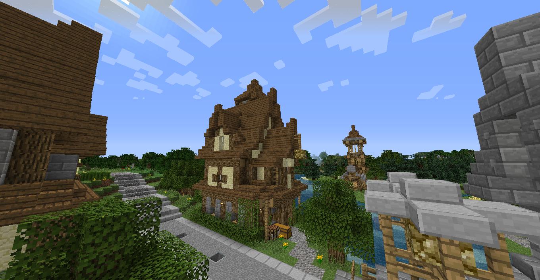 Maison De Type Médiévale 20 Sur Le Forum Minecraft 31 08