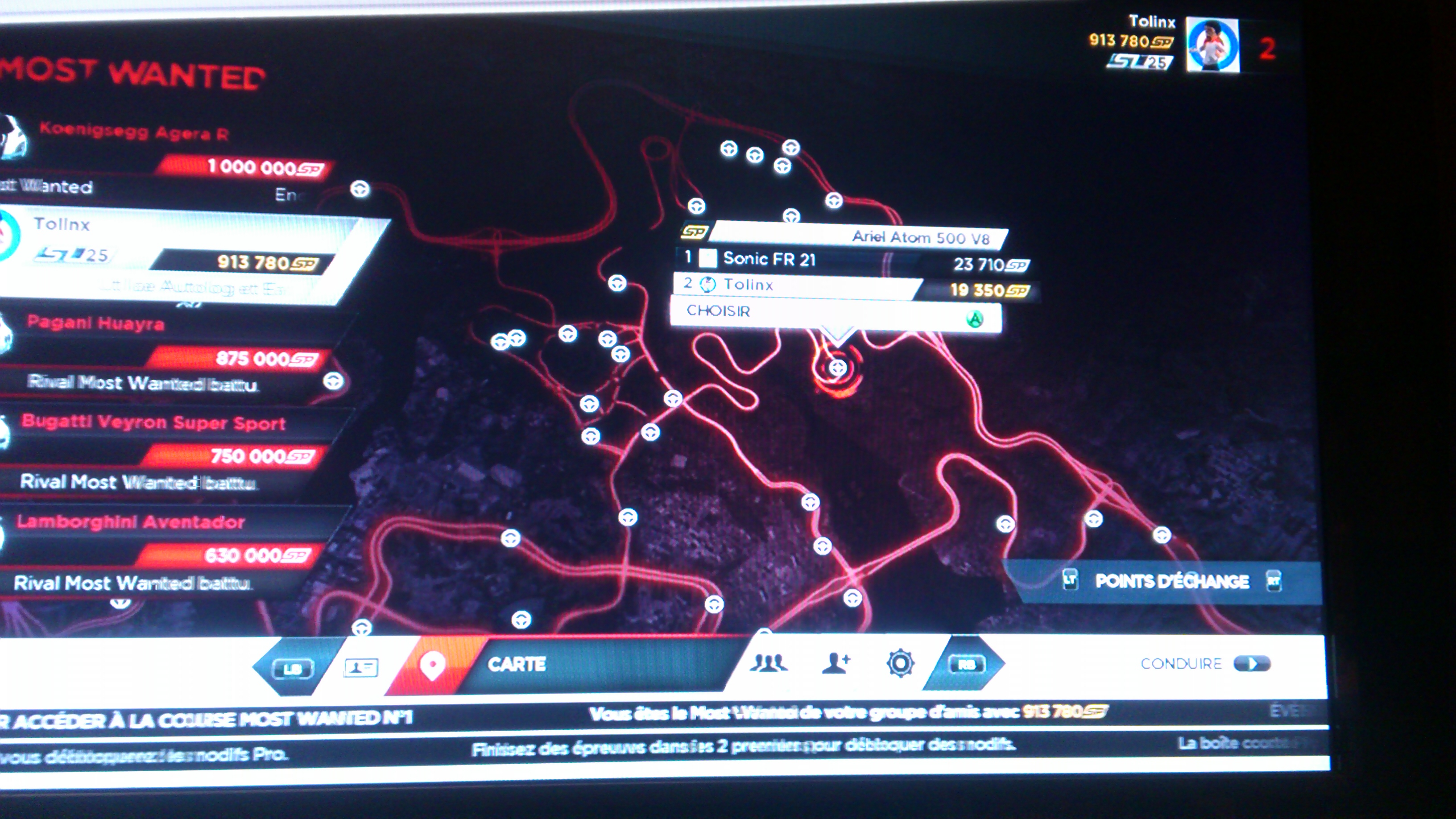 Bugatti Veyron Need For Speed Most Wanted Location