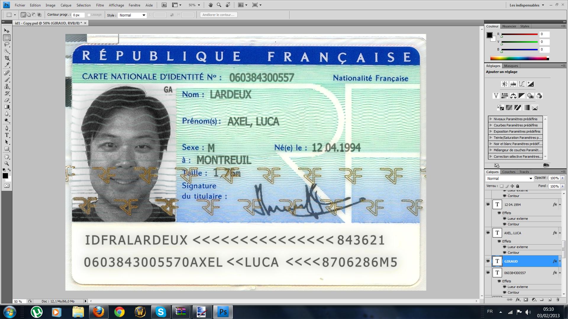 créer une fausse carte d identité en ligne ePub] Fausse Identite Facebook