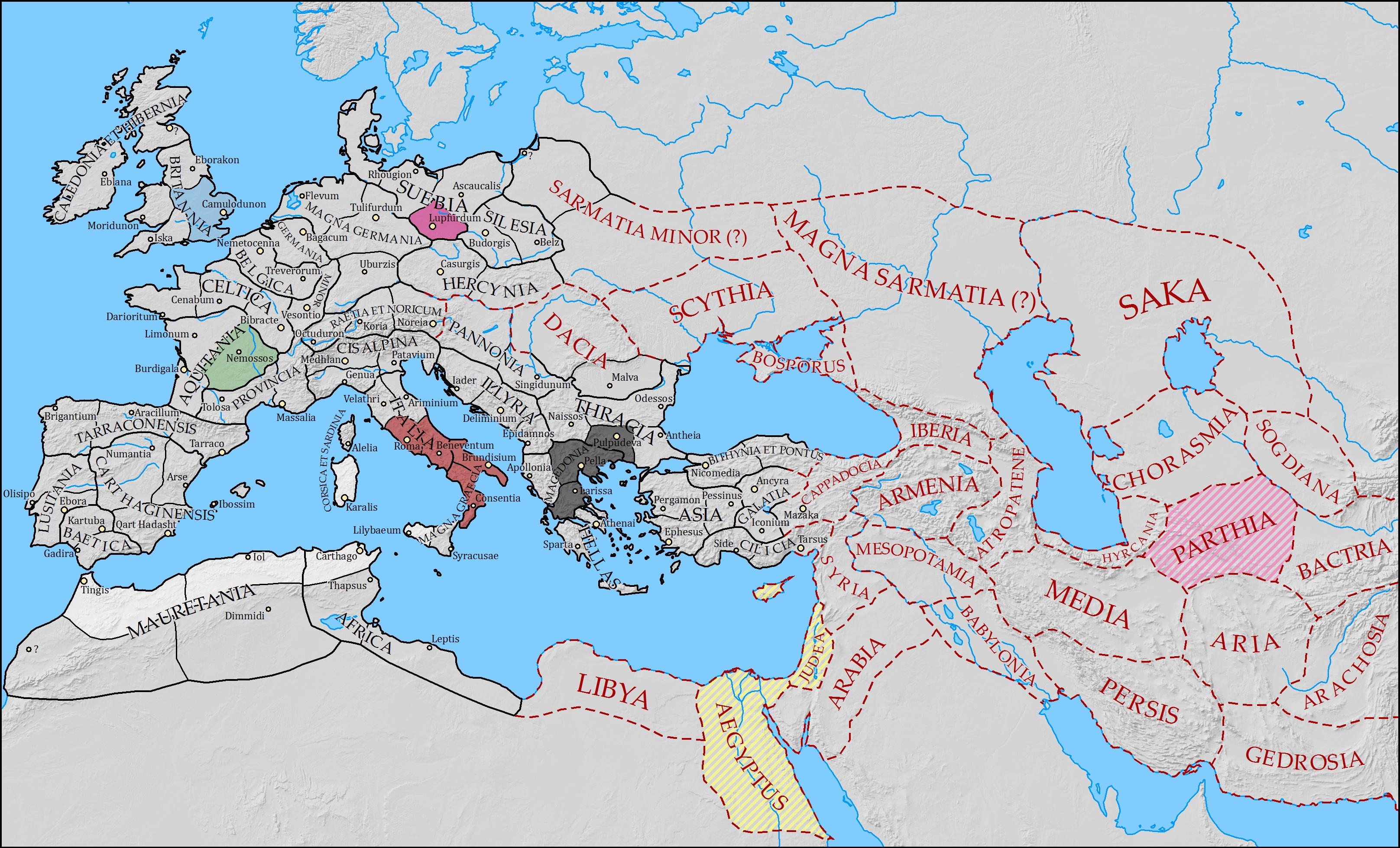 info rome ii