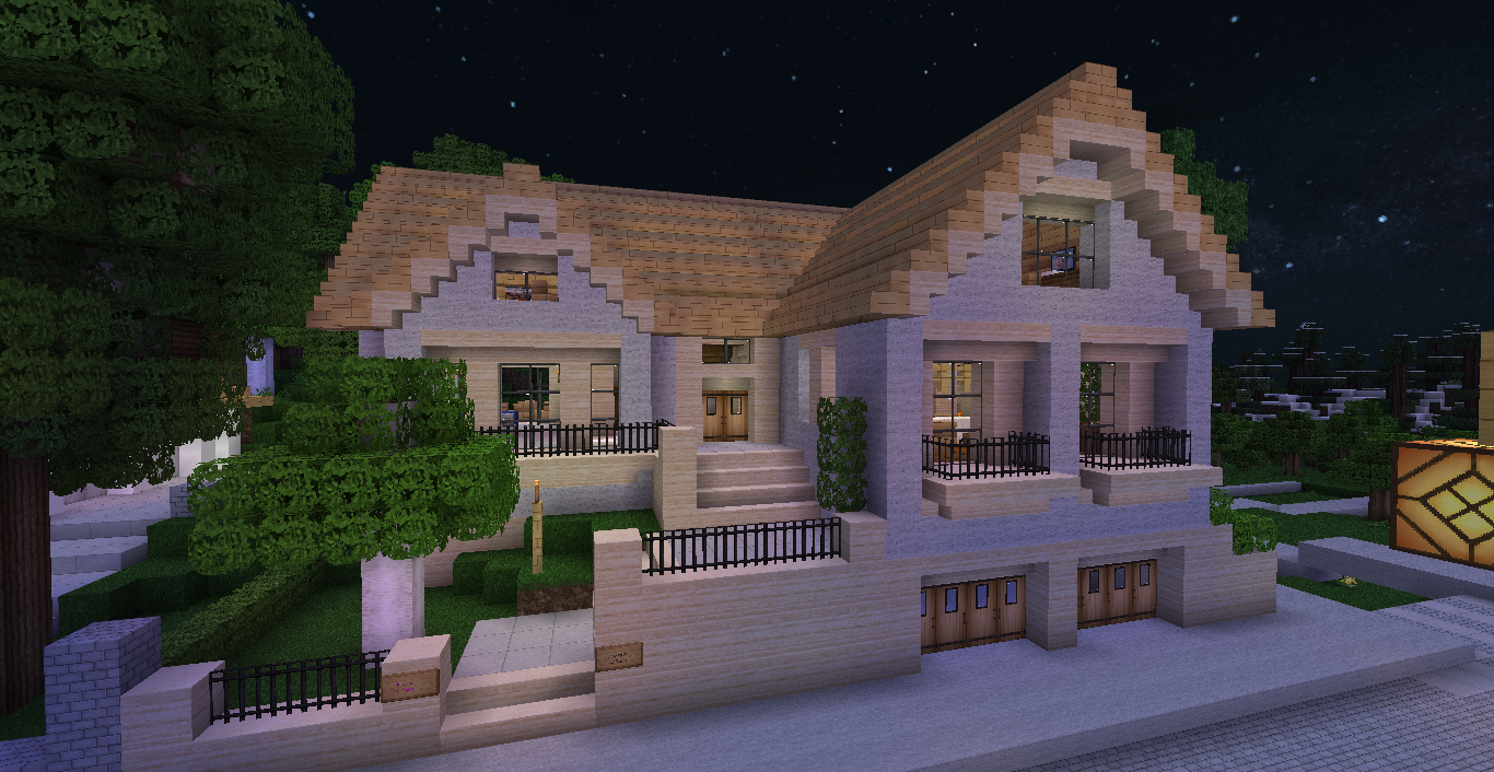 Maison style japonais minecraft for Forum construction maison