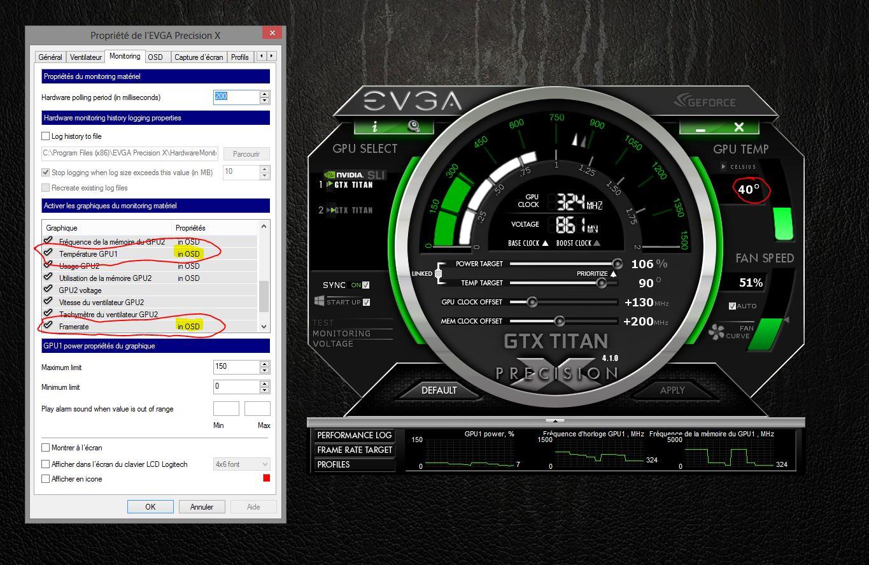 Comment utliser EVGA Precision X ? sur le forum Matériel