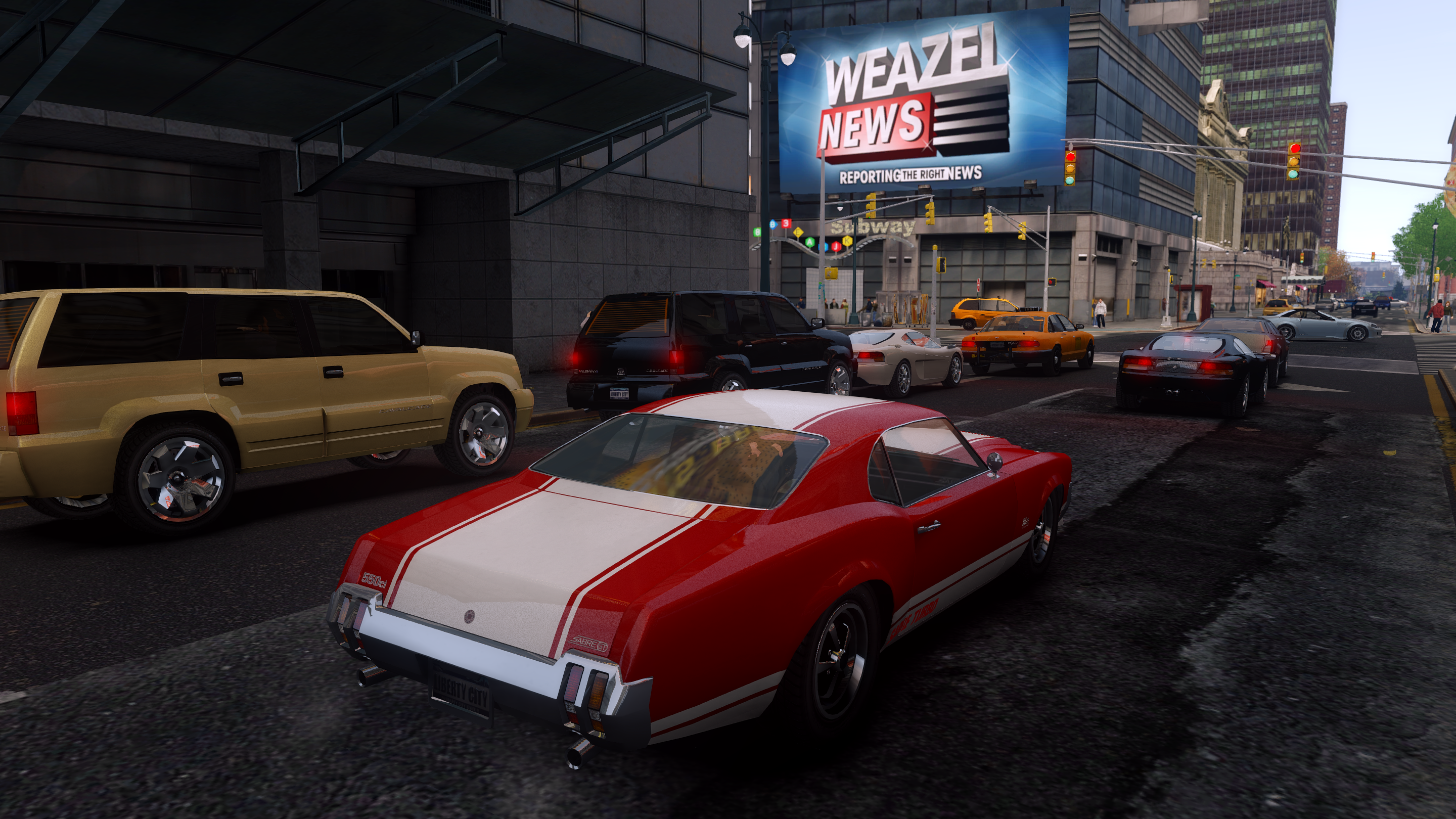 Grand theft auto iv game mod ultimate textures v 20