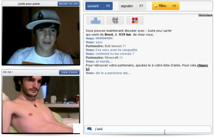 Gay Chat Roulette