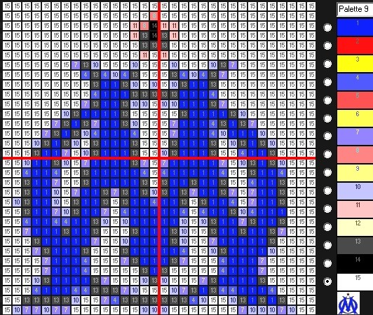 Pixel Art De Foot