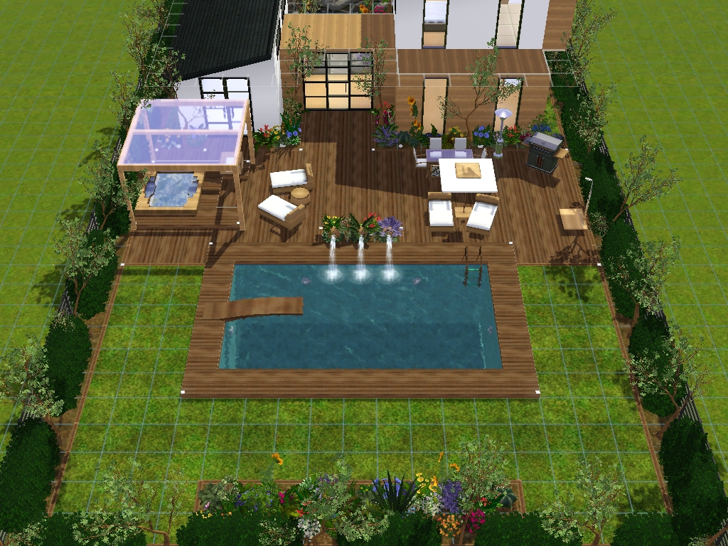 Comment Faire Un Beau Jardin comment faire un beau jardin [part. 1] sur le forum les sims