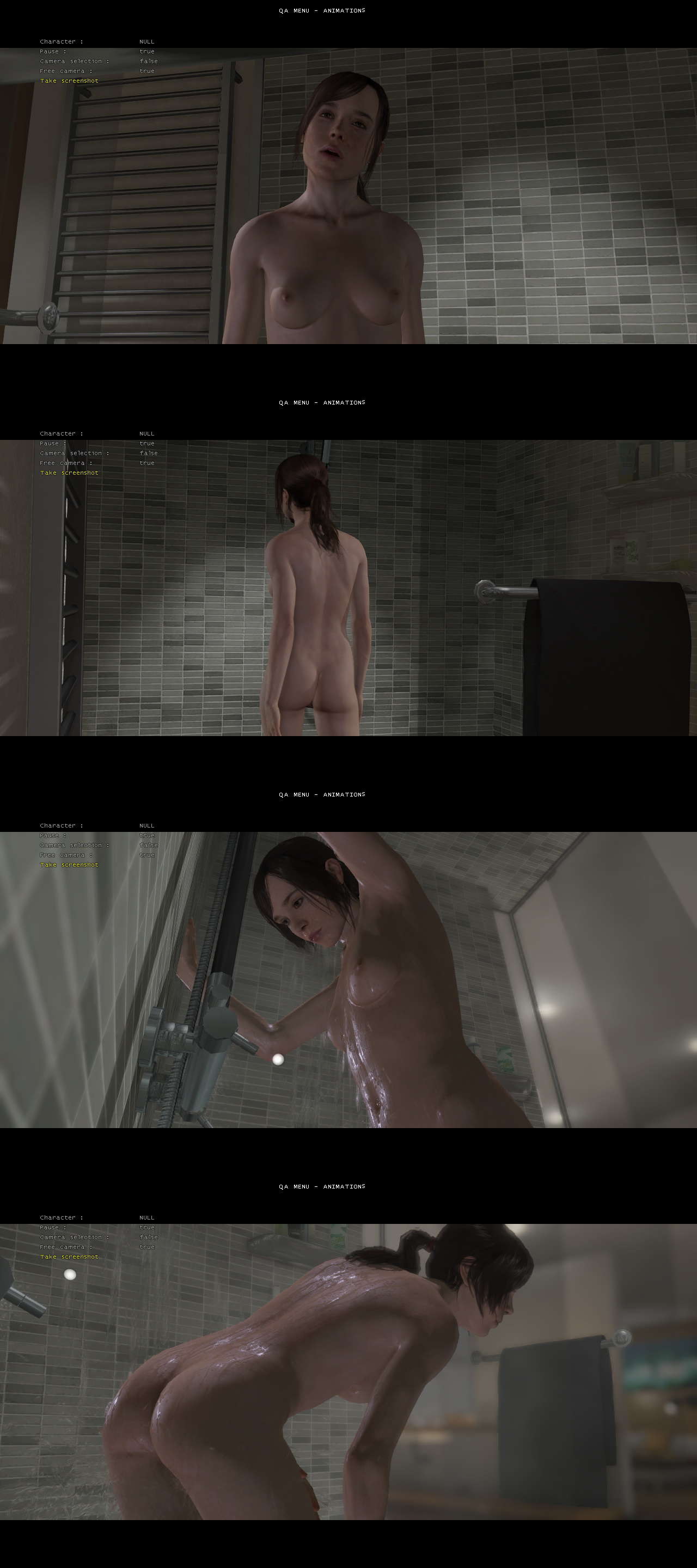 Beyond Two Souls Naked