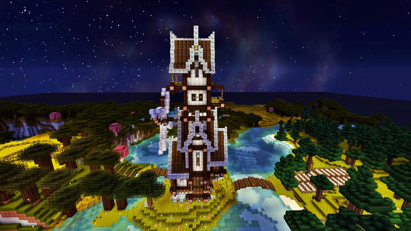 Maison Minecraft Steampunk