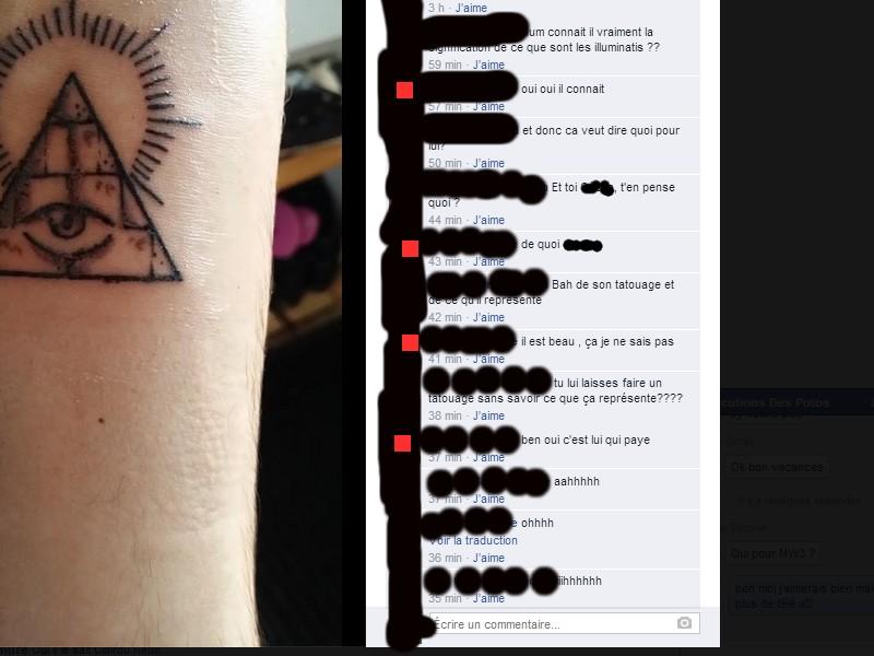 Mon Pote A Fait Un Tatouage Illuminati Sur Le Forum Blabla 15 18 Ans