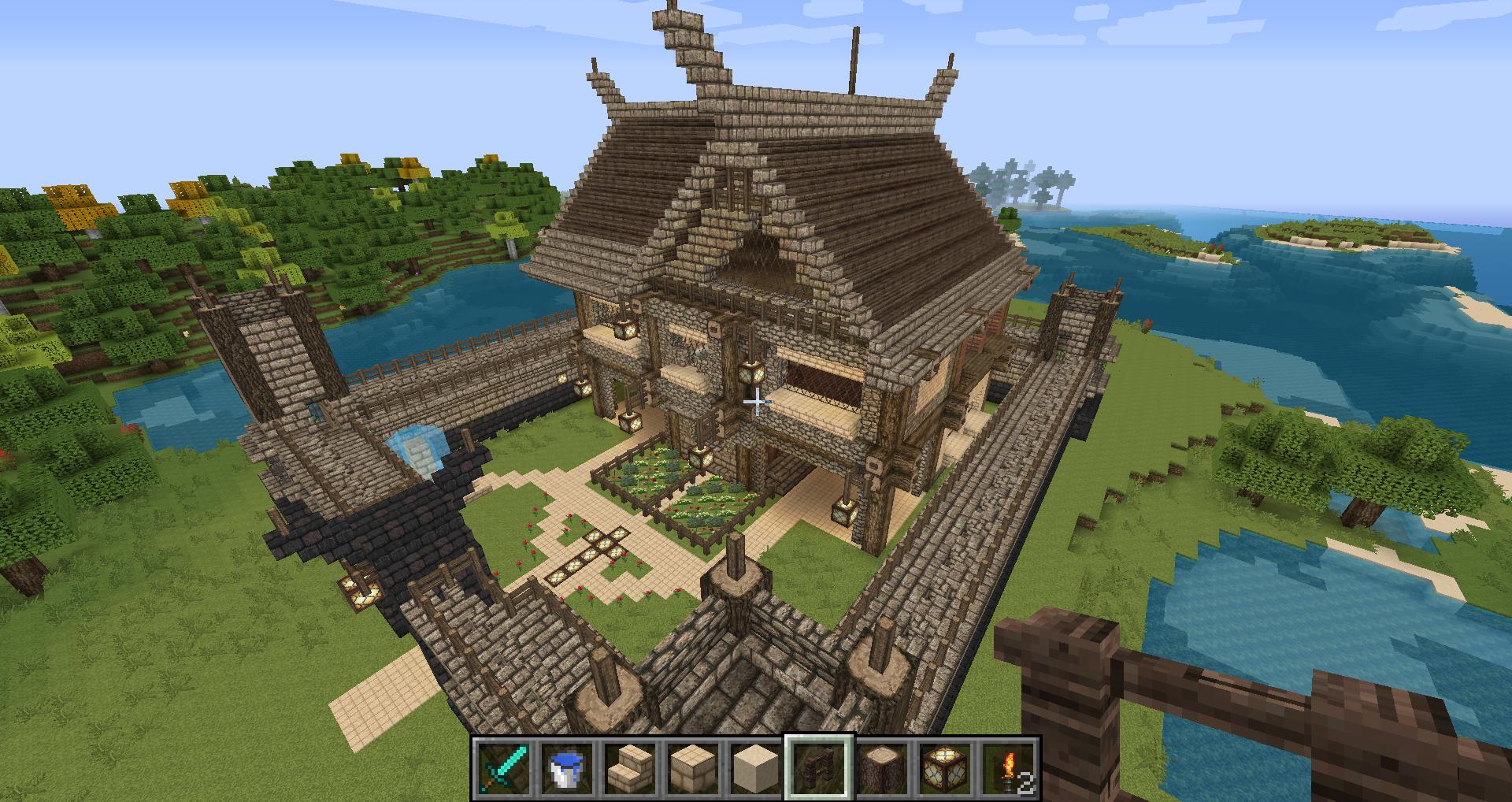 Avis Maison Médiévale Sur Le Forum Minecraft 25 09 2014