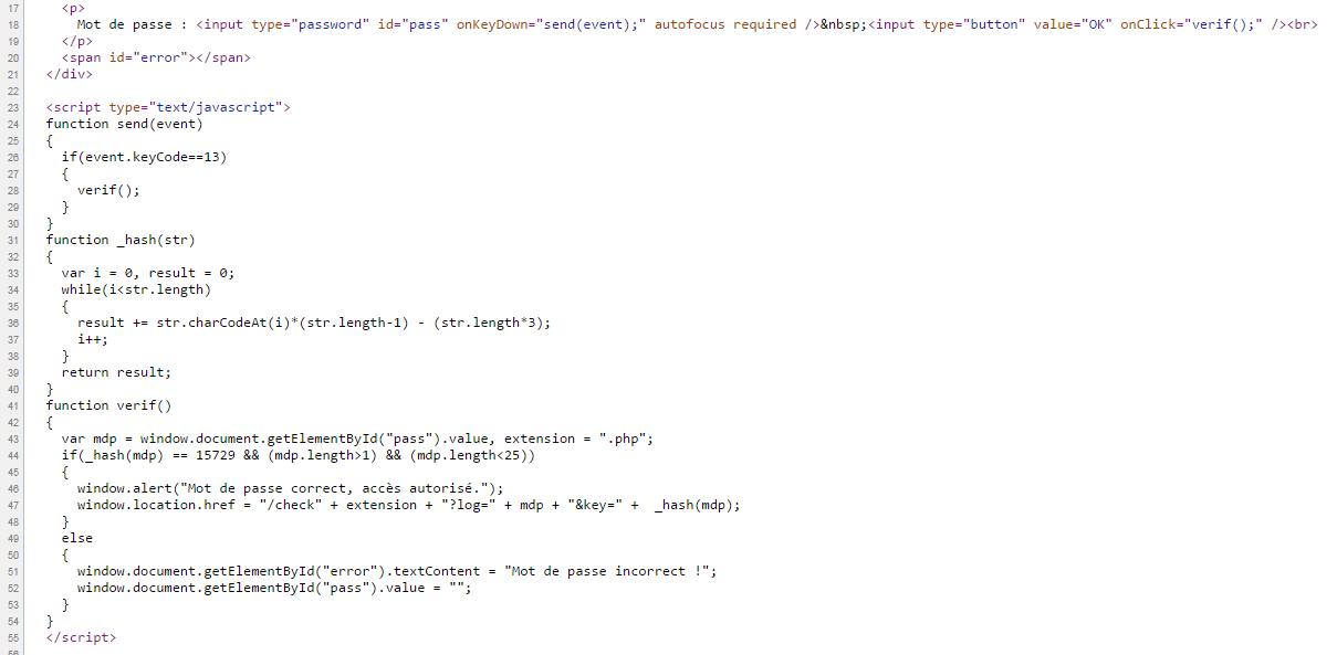 JS : Le hash d'un mot de passe sur le forum Programmation