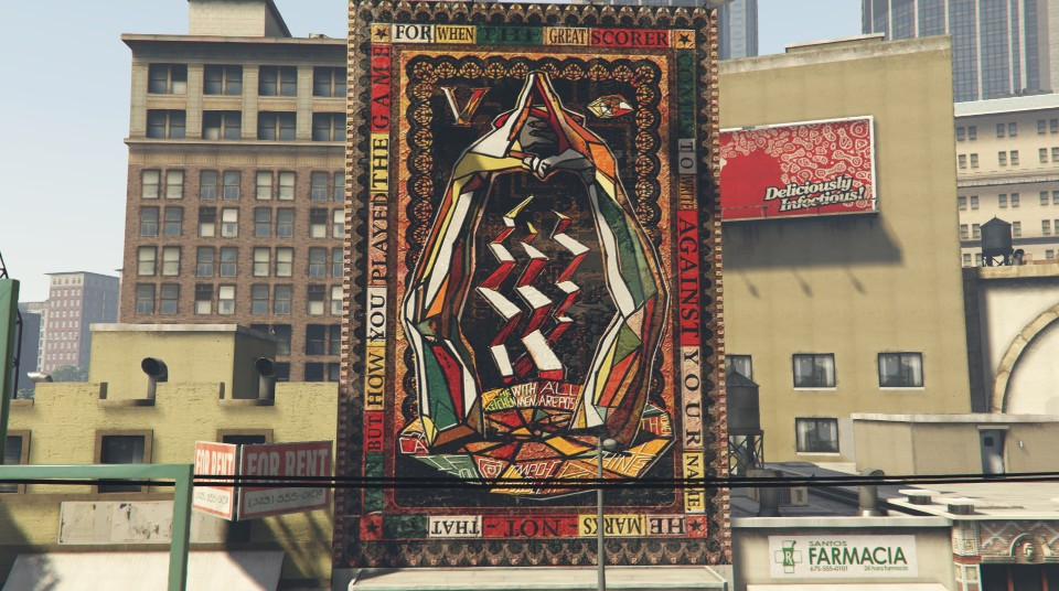 Complete analysis of Mt  Chiliad Mural ( Spoilers ) : GTAV