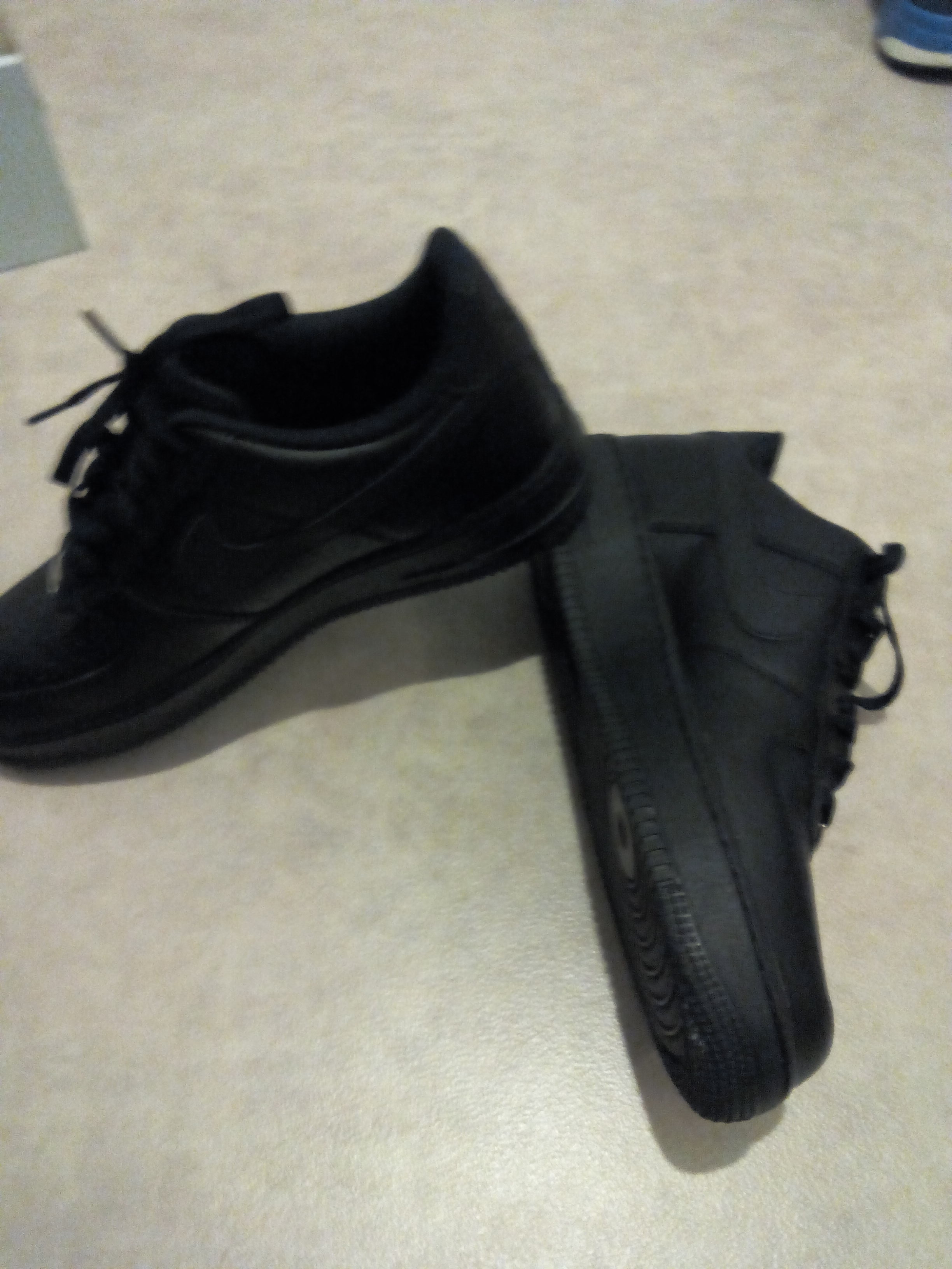 new products 7fb80 6a47a nike air force one basse noir