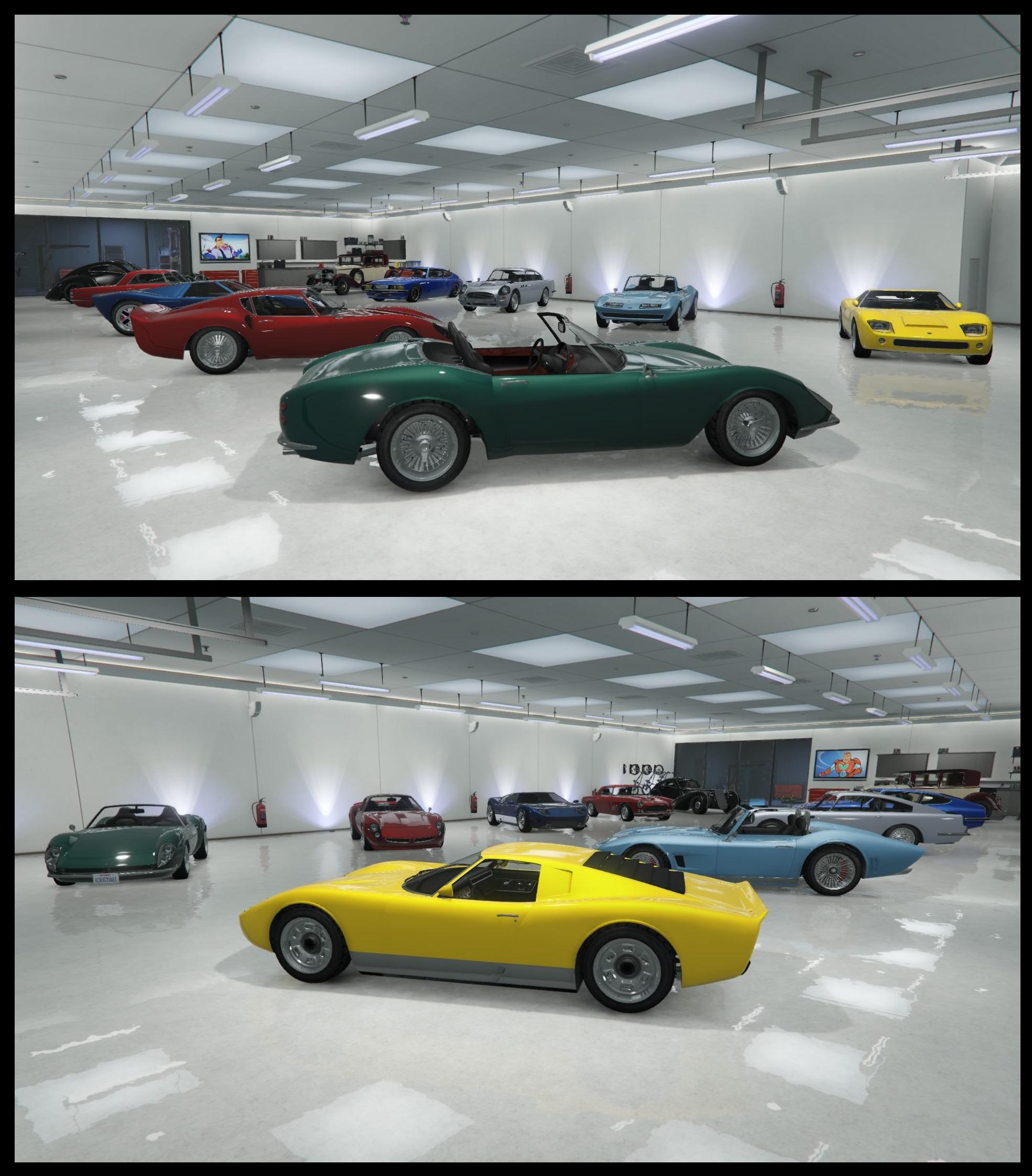 Mon Garage D Anciennes De Luxe Sur Le Forum Grand Theft Auto