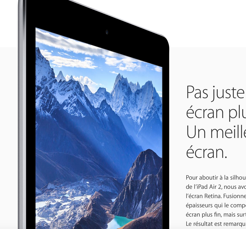 Ce Fond D Ecran Ipad Sur Le Site Apple Sur Le Forum Iphone