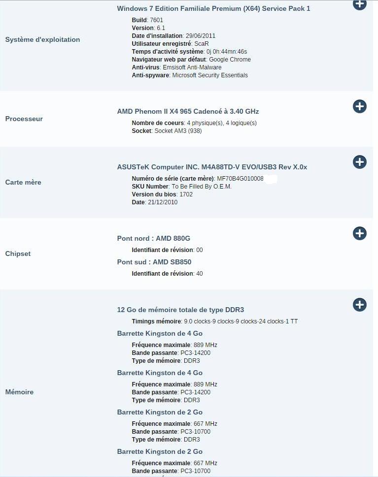 aide mettre jour une config pc sur le forum mat riel informatique 16 04 2015 16 08 08. Black Bedroom Furniture Sets. Home Design Ideas