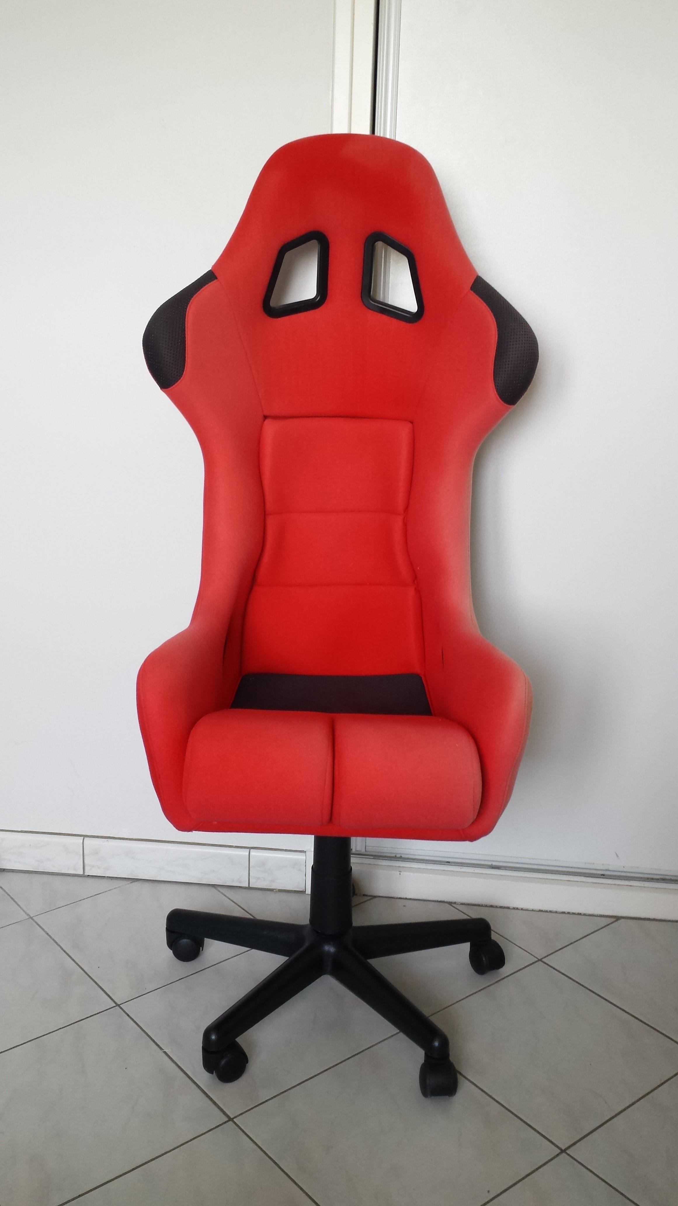 fauteuil de bureau fait maison sur le forum mat riel. Black Bedroom Furniture Sets. Home Design Ideas