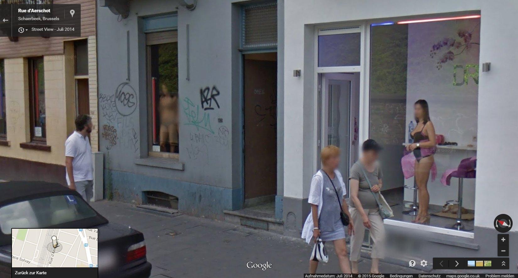 Prostituée vitrine hollande
