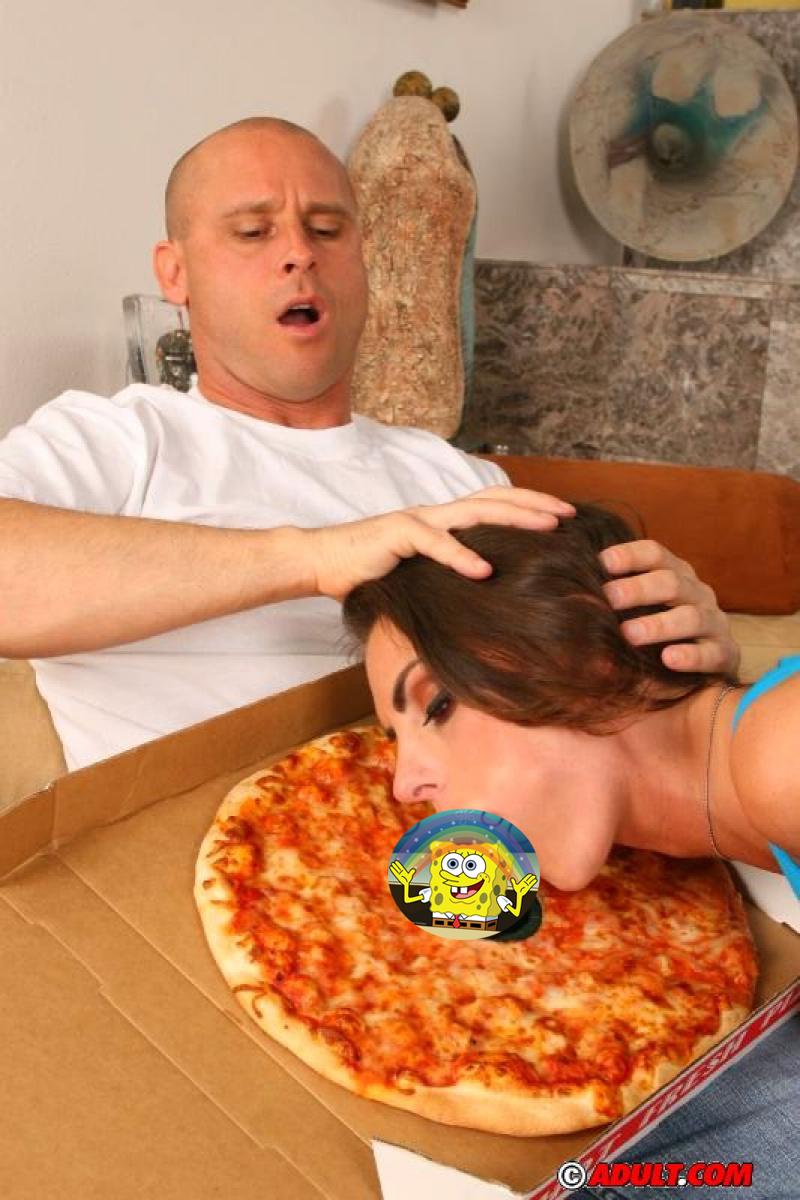 Порно онлайн разнощица пиццы