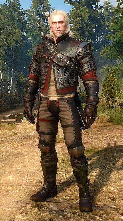 Witcher 3 wolf armor set
