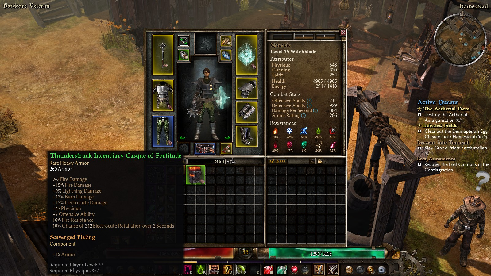 Grim Dawn Tank Build