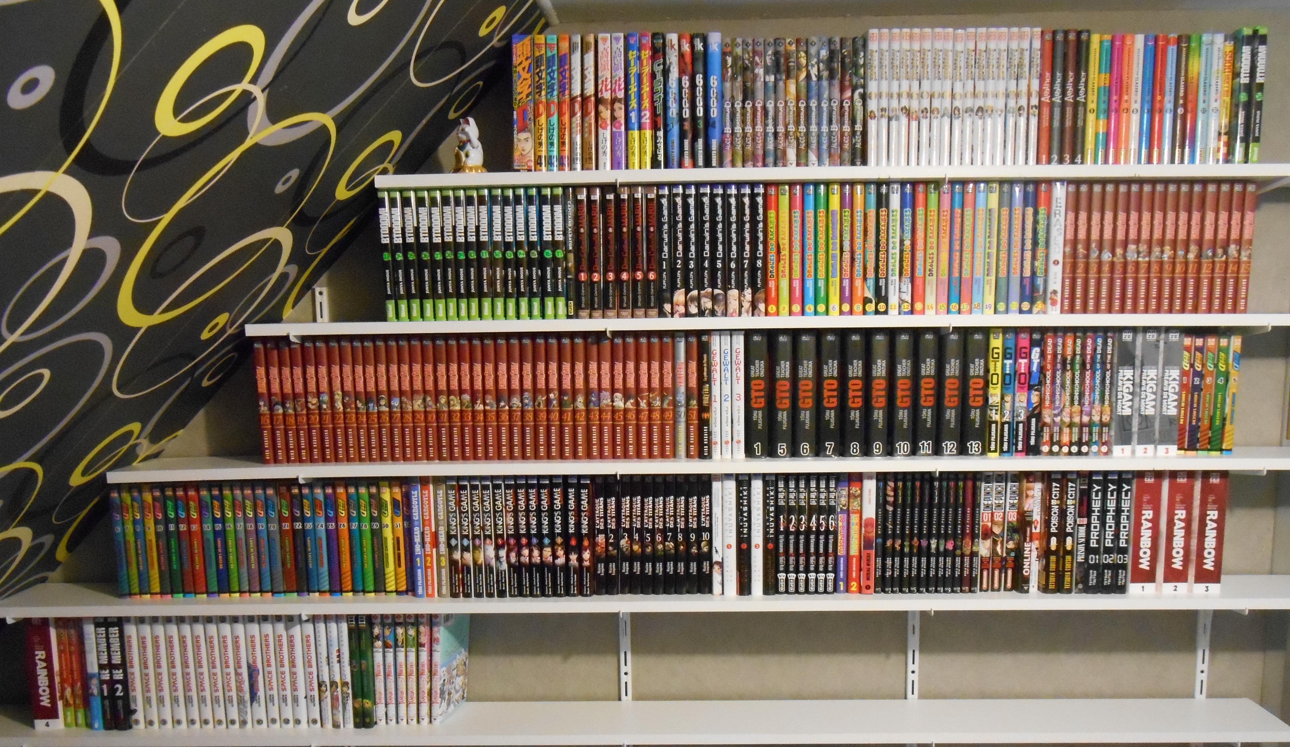 meubles pour ranger ses livres et mangas sur le forum bd. Black Bedroom Furniture Sets. Home Design Ideas