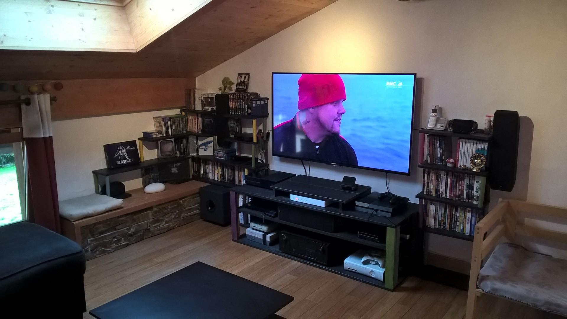 recul tv 55 pouces 4k philips 55pus7502 t l viseur 4k 55 pouces 139 cm pas cher tv 55 pouces. Black Bedroom Furniture Sets. Home Design Ideas