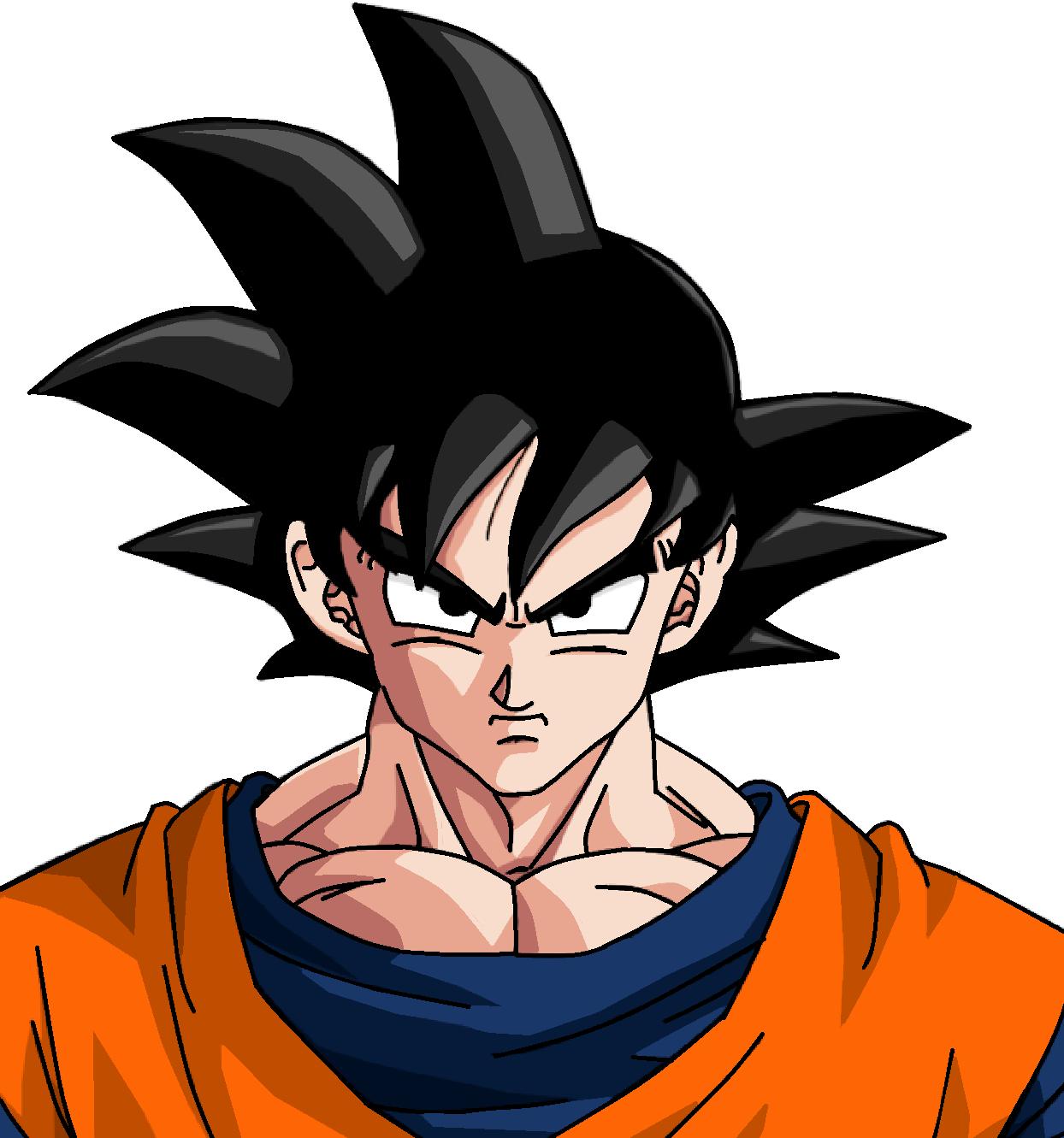 Goku Dessin Facile