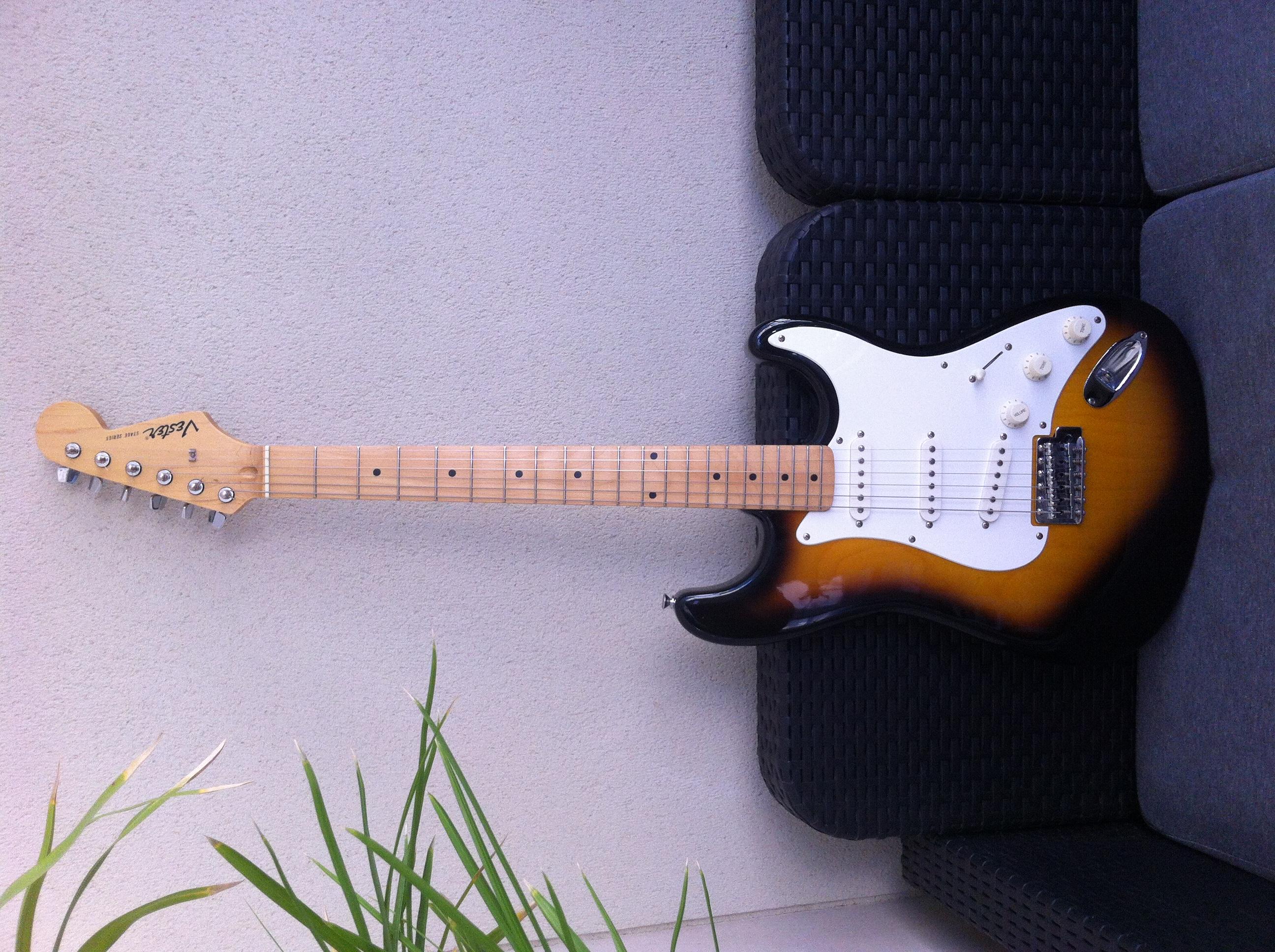 guitare electrique vester
