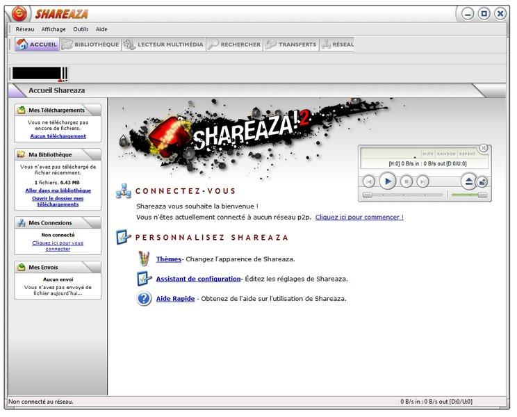 shareaza gratuitement 2011