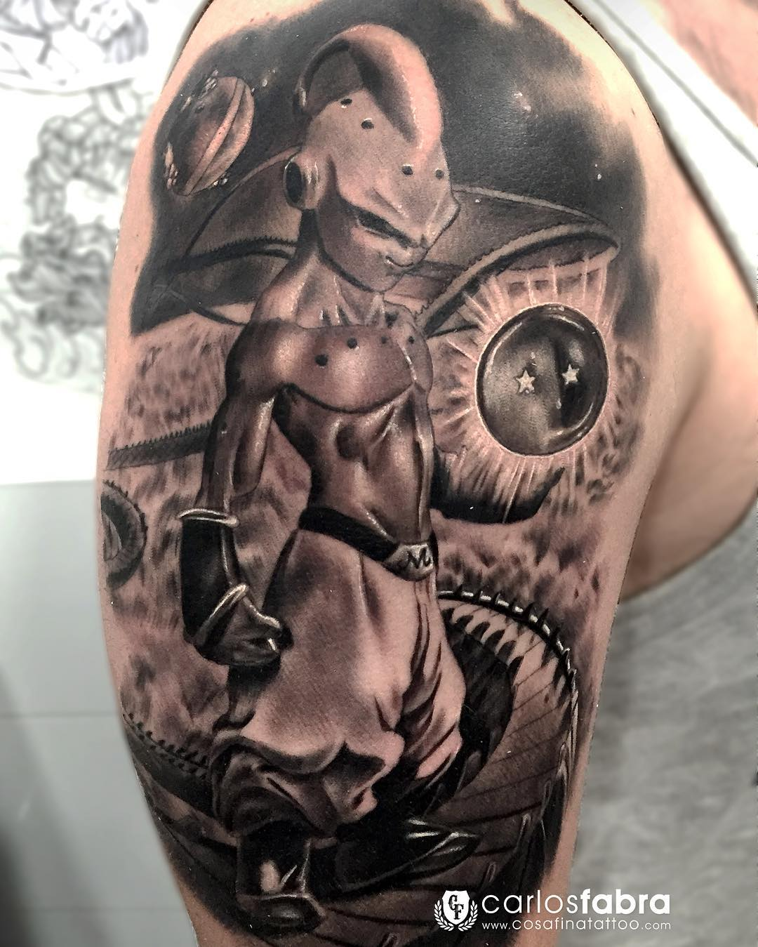 Hs Tatouage Dbz Avant Bras Sur Le Forum Dragon Ball Z Dokkan Battle