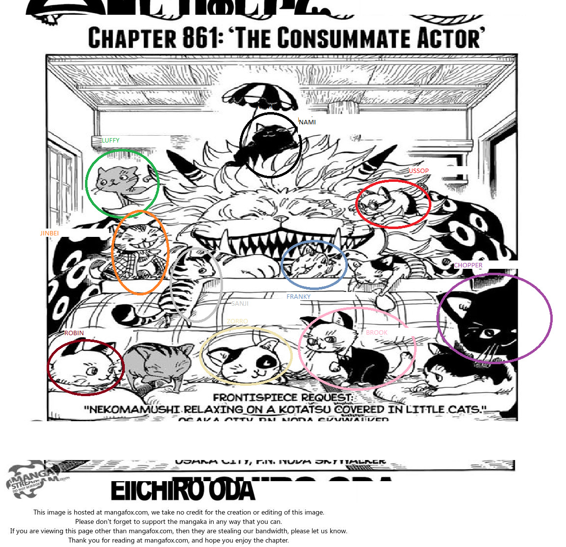 Chatter For Theories On One Piece: [CHAPTER 861 CAT THEORY] The 13th Members Of The Strawhat