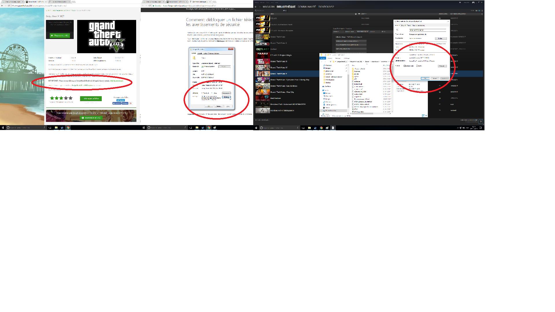 GTA V PC Script Hook V  NET ne fonctionne pas sur le forum Grand