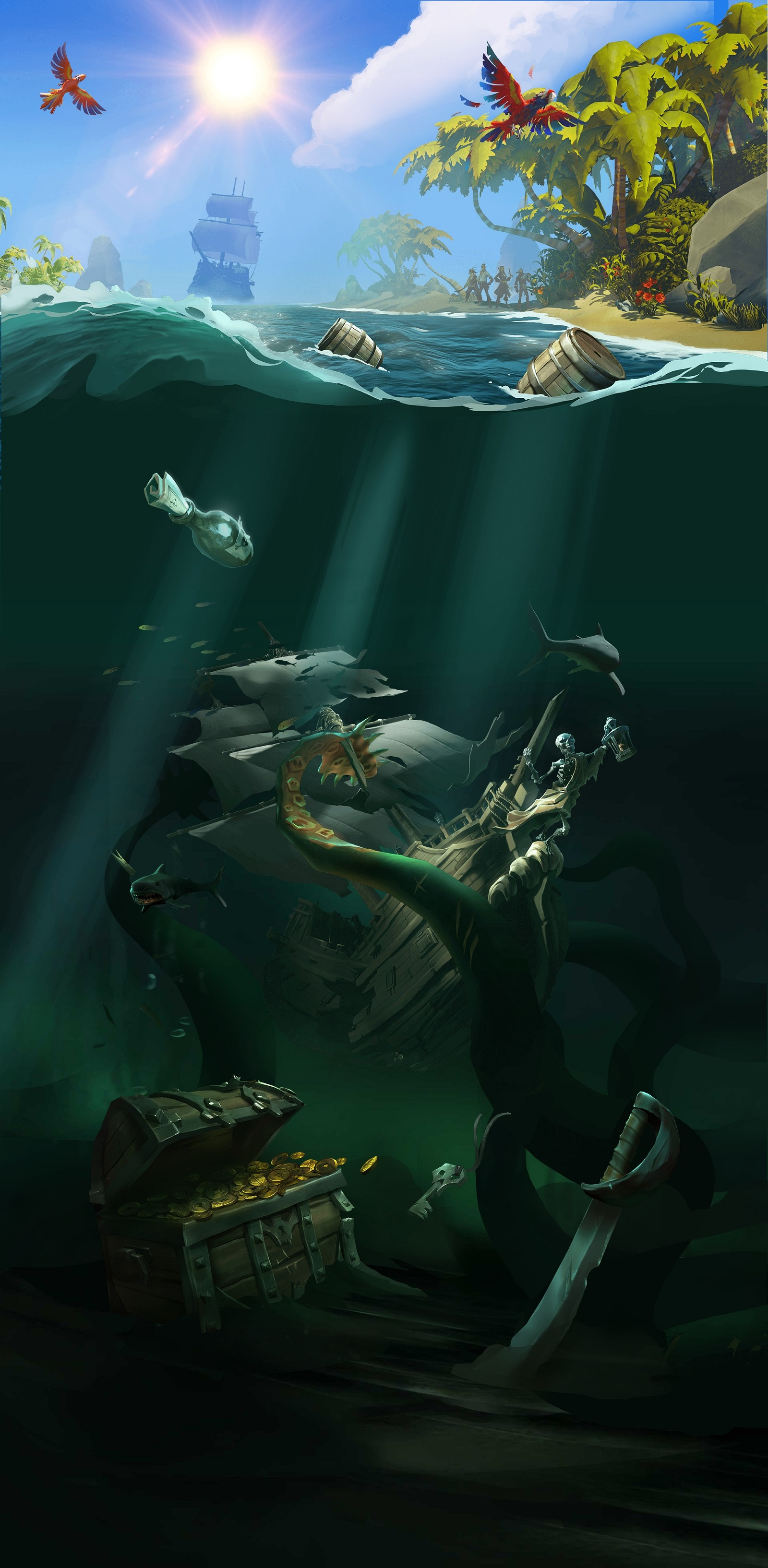 coffre sea of thieves