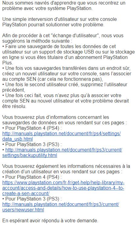 PSN down ? sur le forum PlayStation 4 - 23-01-2018 17:38:43