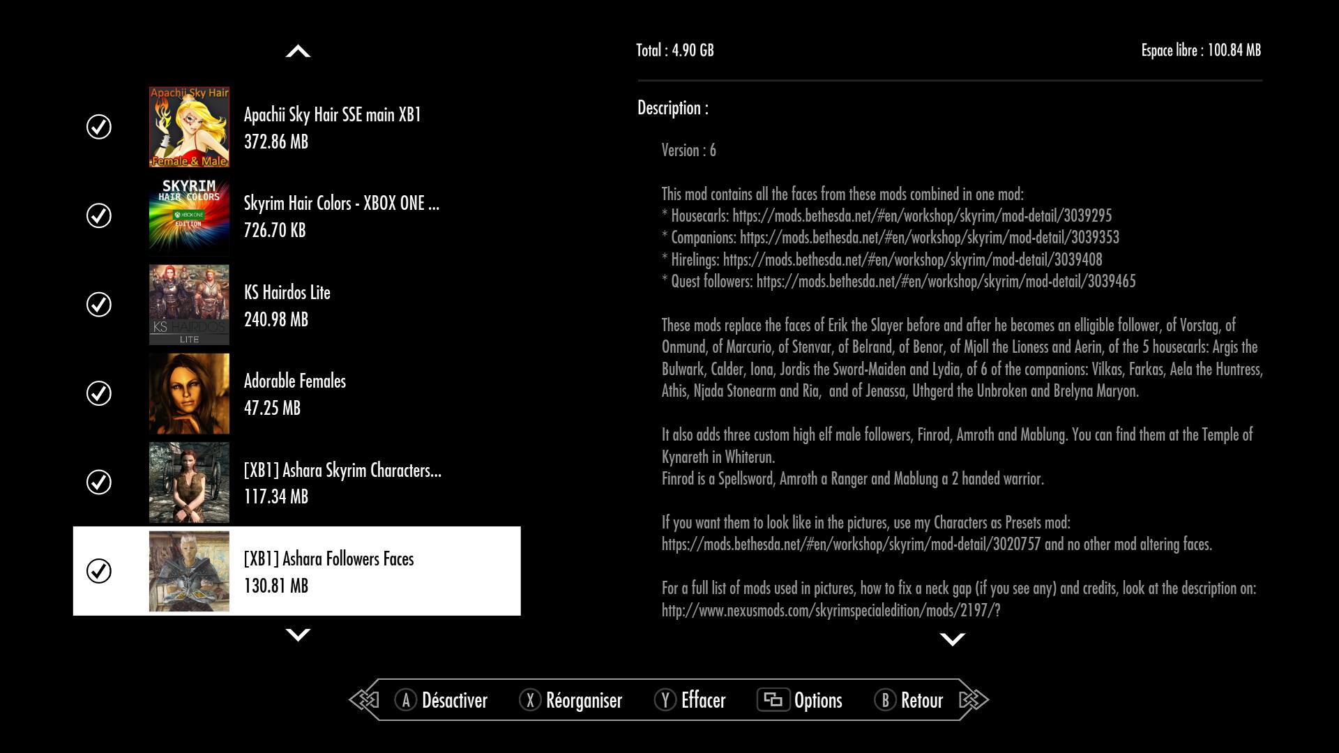 ONE] Bug couleur tête / corps sur le forum The Elder Scrolls V