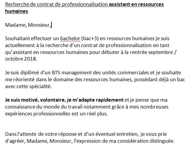 Avis Lettre De Motivation Assistant Rh Sur Le Forum Métiers